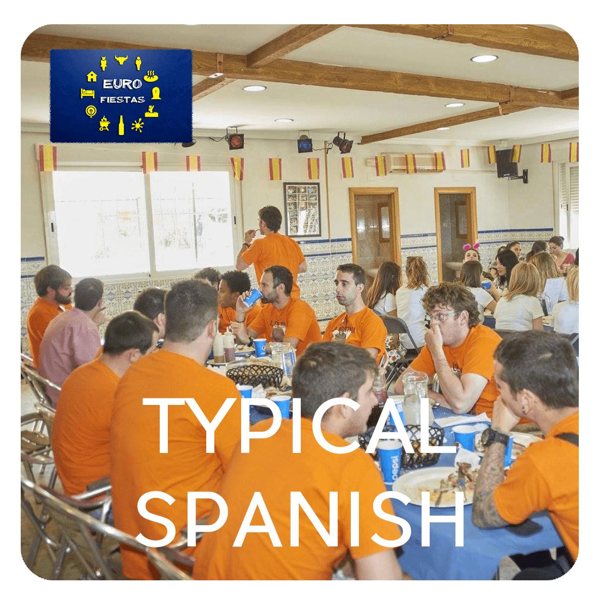 typical spanish